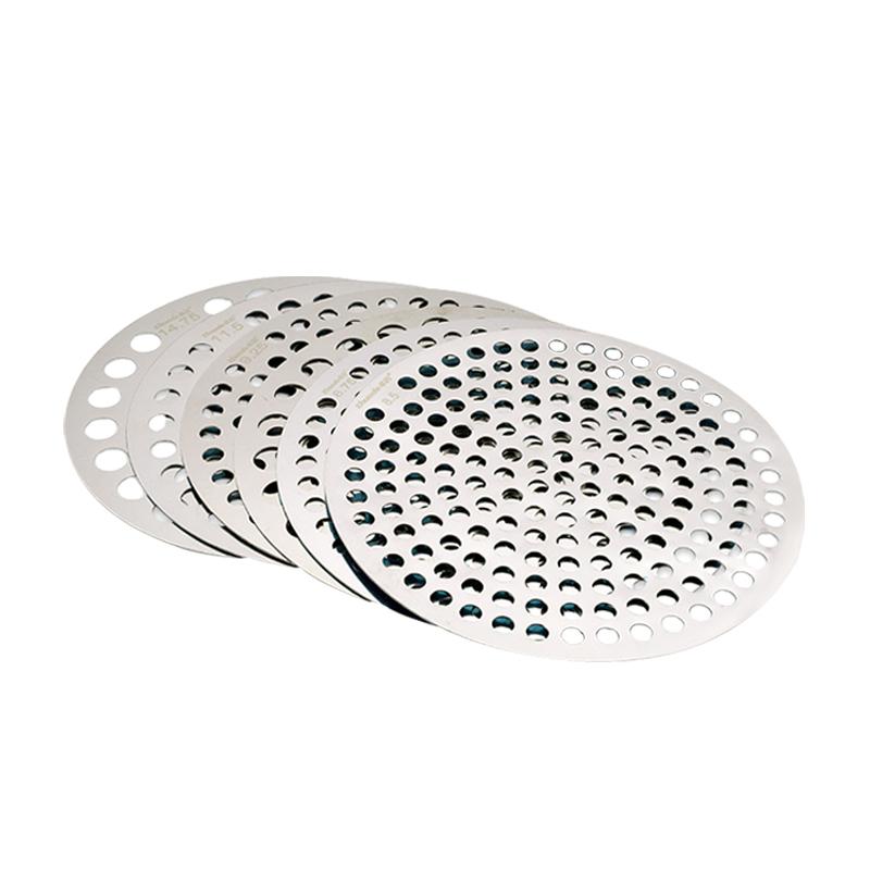 卓的圆孔筛片